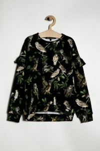 SWEATSHIRT BLACK OWLS
