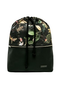 BACKPACK BLACK BOTANICA