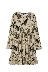 DRESS BEIGE OWLS