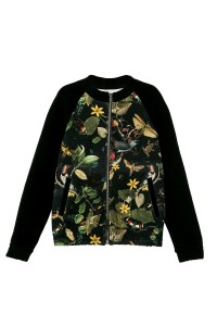 JACKET BLACK BOTANICA