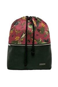 BACKPACK BOTANICA BURGUNDY