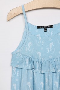 DRESS SEAHORSES BLUE