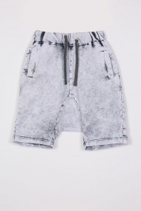 SHORTS ACID GRAY