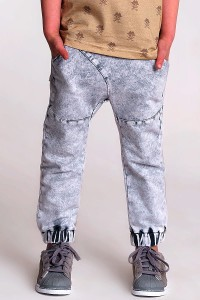 BAGGY PANTS ACID GRAY
