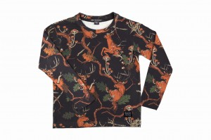BLUZKA DEER BLACK (1)